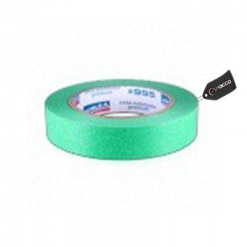 Fita Crepe Premium Verde Alta Temperatura Doble A 995c 24X50