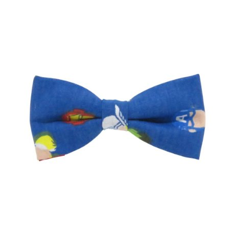 Gravata borboleta marvel azul