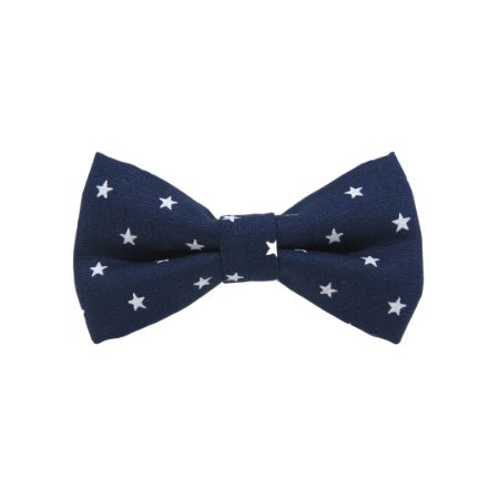 Gravata borboleta estrelas marinho