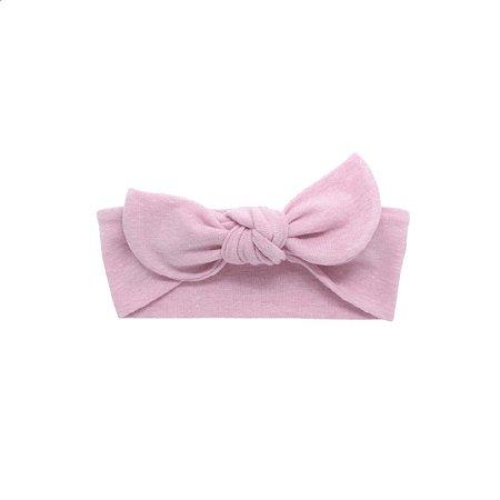 Faixinha de cuca stone rosa claro