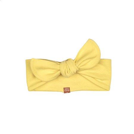 Faixinha de cuca basic amarela