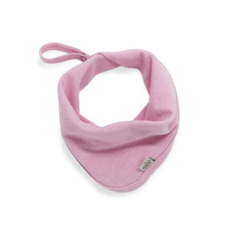 Babeiro toalha de boca stone rosa claro