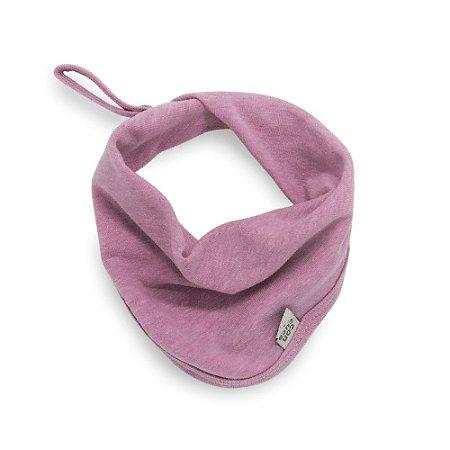 Babeiro toalha de boca stone rosa