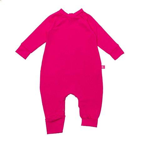 Macacão longo FPS50+ rosa pop