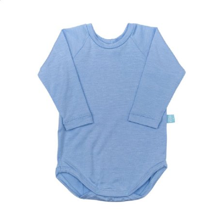 Body manga longa modal frozen blue