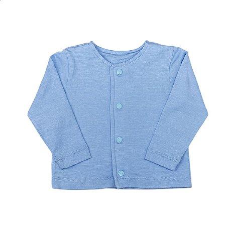 Cardigan modal frozen blue