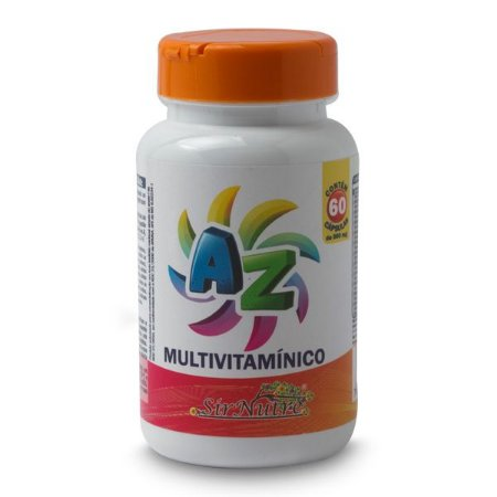 AZ Multivitamínico - 60 cápsulas de 560 mg