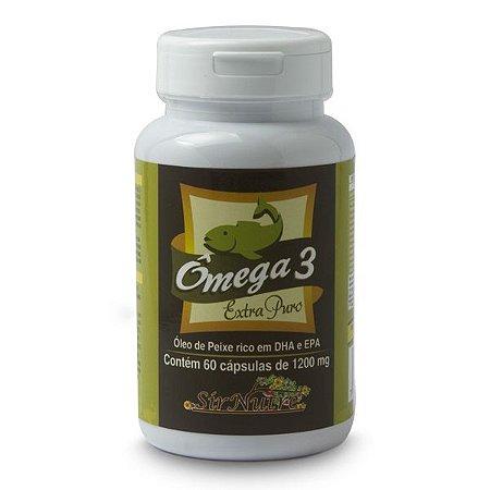 Ômega 3 - 60 cápsulas com 1200 mg
