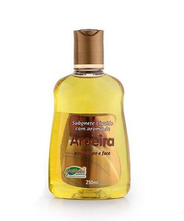 Sabonete liquido com aroma de aroeira