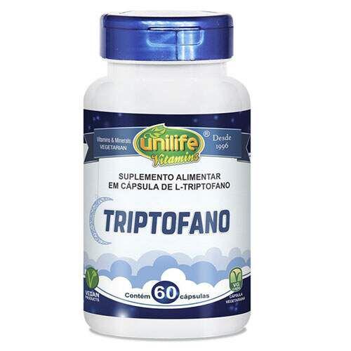 Triptofano Unilife 60 cápsulas