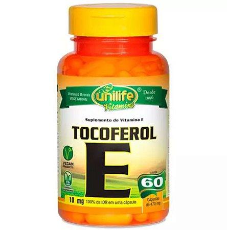 Tocoferol E - 60  cápsulas