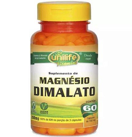 Magnésio Dimalato - 60 cápsulas