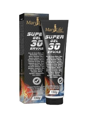 Pomada Super Gel 30 Ervas Mary Life