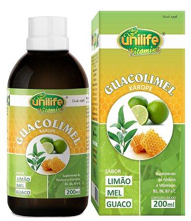 Guacolimel Xarope Vitamínico Unilife 200ml