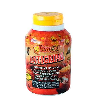 Composto de mel  e ervas medicinais -Antigripal