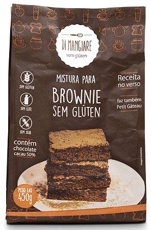 Mistura para Brownie Zero Lactose/Glúten 450g