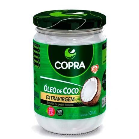 Óleo de coco extra virgem - 500 ml