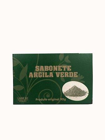 Sabonete de ARGILA VERDE - ADSTRINGENTE