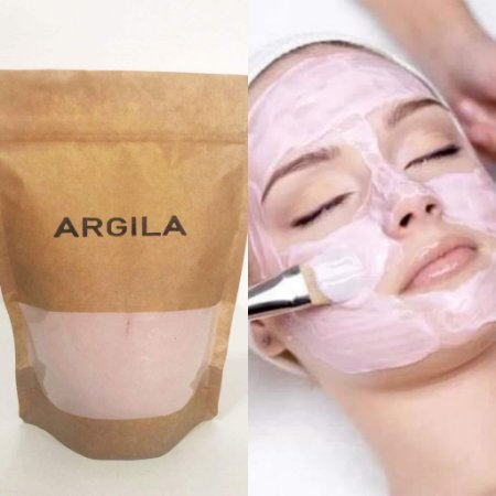 Argila Rosa orgânica - 400 g