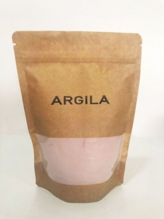 Argila roxa orgânica - 400 g