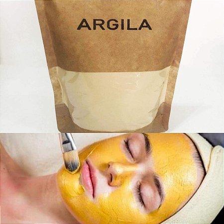 Argila amarela orgânica - 400 g