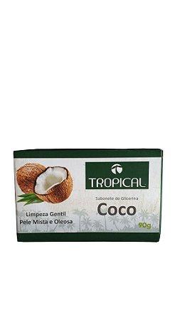 Sabonete barra de coco