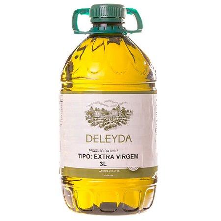 Azeite de Oliva Deleyda Extra Virgem Bombona 3L Acidez 0,2%