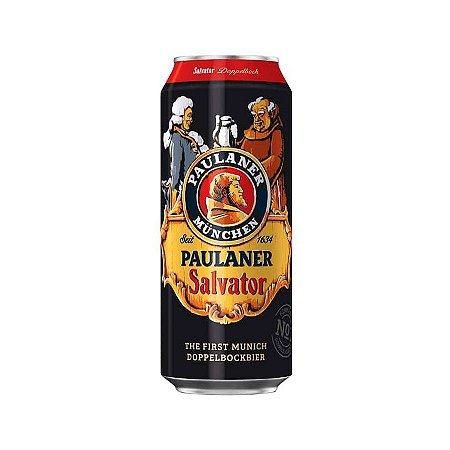 Cerveja Alemã Paulaner Salvator Lata 500ml Estilo Doppelbock