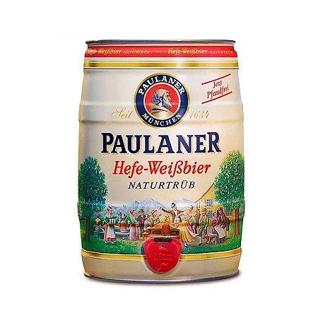 Cerveja Paulaner Hefe Weissbier Naturtrub Barril 5L