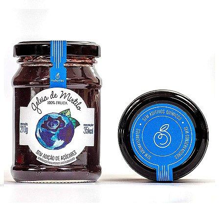 Geleia de Mirtilo 100% Fruta Myberries Sem Adição de Açúcar