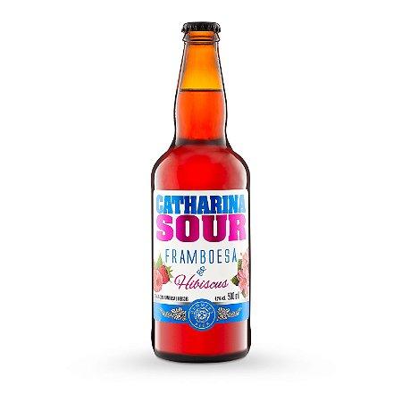 Cerveja Catharina Sour Framboesa e Hibiscus 500ml