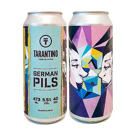 Cerveja Tarantino Estilo German Pils 473ml - 5,5% + 40 IBU