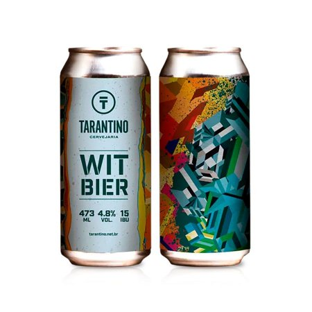 Cerveja Tarantino Witbier 473ml - 4,8% + 15 IBU