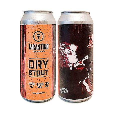 Cerveja Tarantino Dry Stout 473ml - 3,8% + 35 IBU