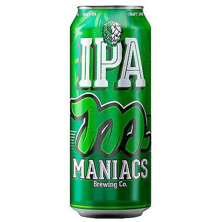 Cerveja Maniacs Craft IPA 473ml - 4,7% + 30 IBU