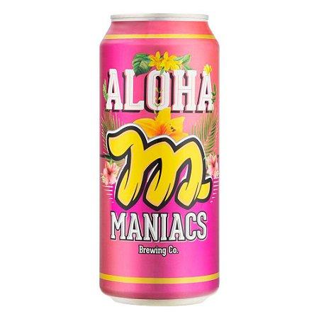 Cerveja Maniacs Aloha American Pale Ale 473ml - 5% + 35 IBU