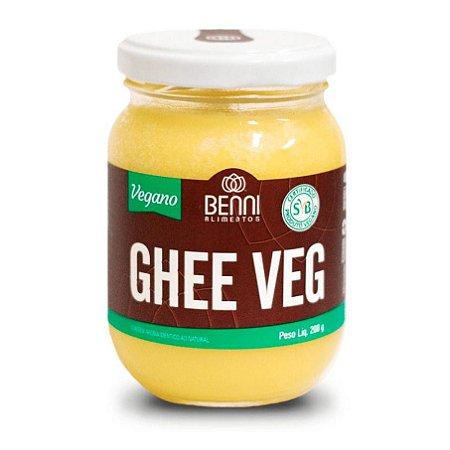 Ghee Veg Manteiga Vegana Tradicional 200g