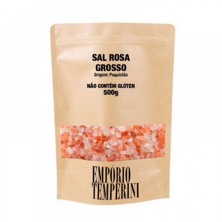 Sal Rosa do Himalaia Grosso Premium 500g