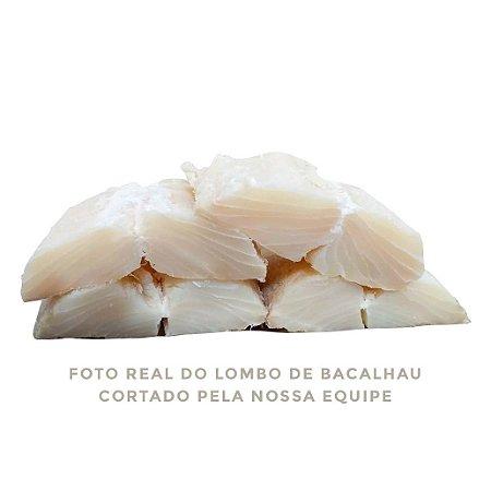 Lombo De Bacalhau Porto Morhua Limpo Sem Pele/espinha 1kg