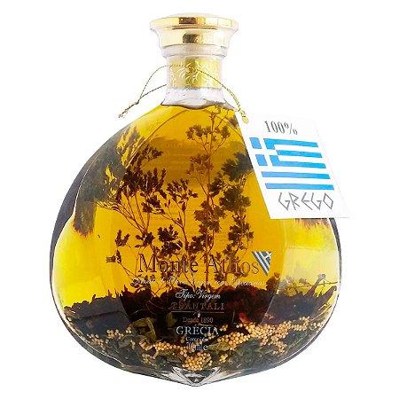 Azeite De Oliva Grego Virgem Especiarias Monte Athos