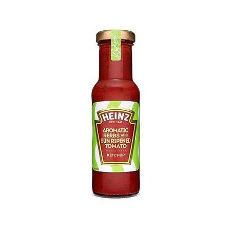 Ketchup Heinz Ervas FInas Aromatic Herbs Sun Ripened Tomato