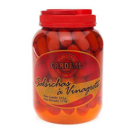 Salsicha em Conserva Cardeal em Vinagrete 1,7kg