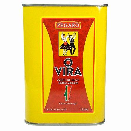 Azeite Extra Virgem Português O Vira Acidez 0,5% 1 Litro