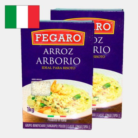 Arroz Arbório Italiano para Risoto 2kg