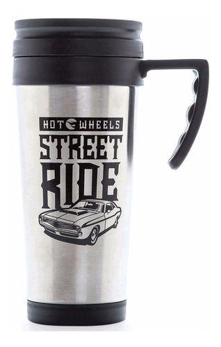 Copo Térmico com Alça Hot Wheels Street Ride