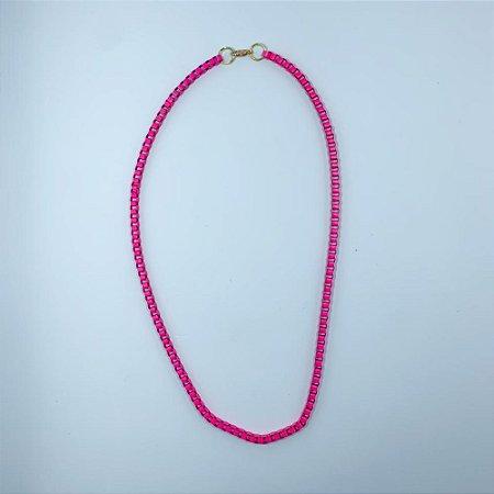 Colar Veneziana Tassila Pink