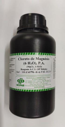 Cloreto de Magnésio 6H2O P.A. (500g) - Isofar