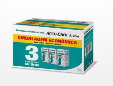 Tiras Reagentes Accu-chek Active (c/150 tiras) - Roche