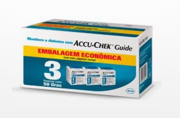 Tiras Reagentes Accu-chek Guide (c/150 tiras) - Roche