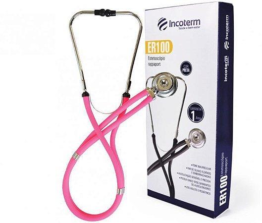 Estetoscópio Rappaport ER100 Pink - Incoterm